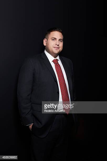 Actor Jonah Hill is photographed for Fandango on February 21 in Los Angeles California