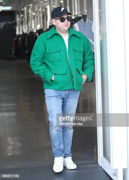 Actor Jonah Hill is seen on December 14 2016 in Los Angeles California