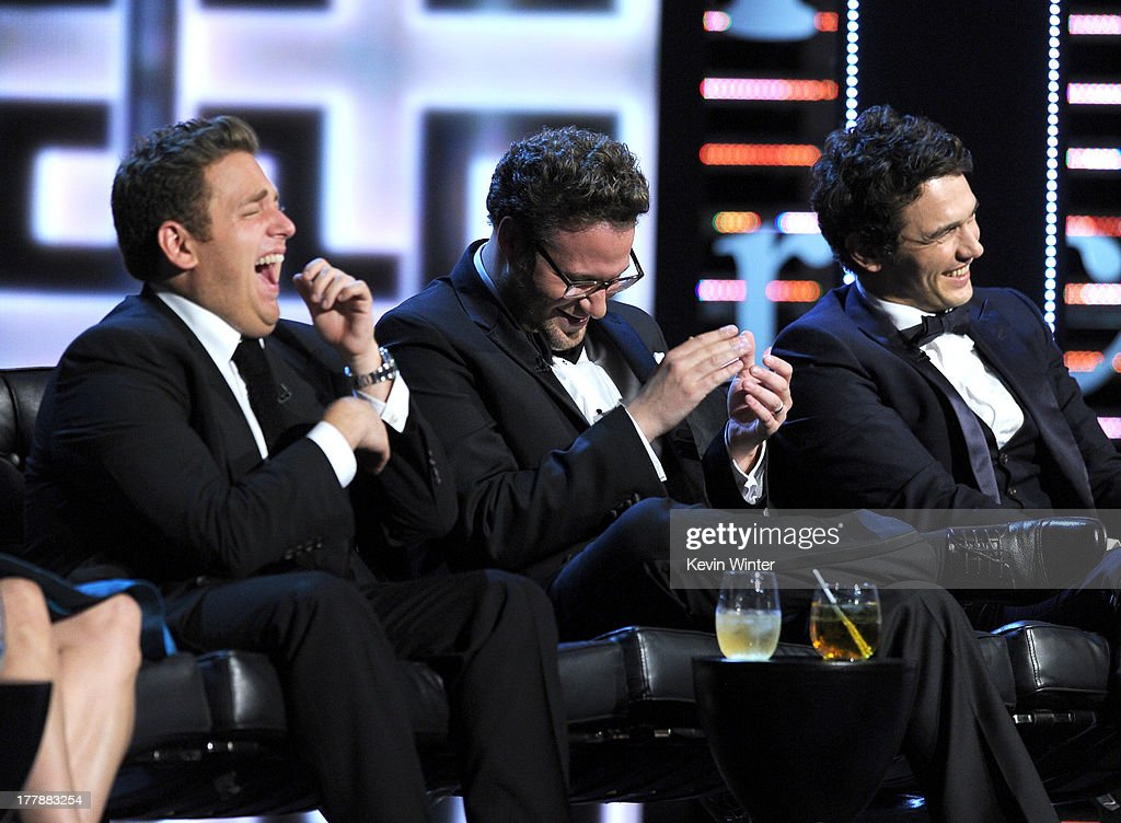 Actor Jonah Hill Roast Master Seth Rogen Roastee James Franco Picture