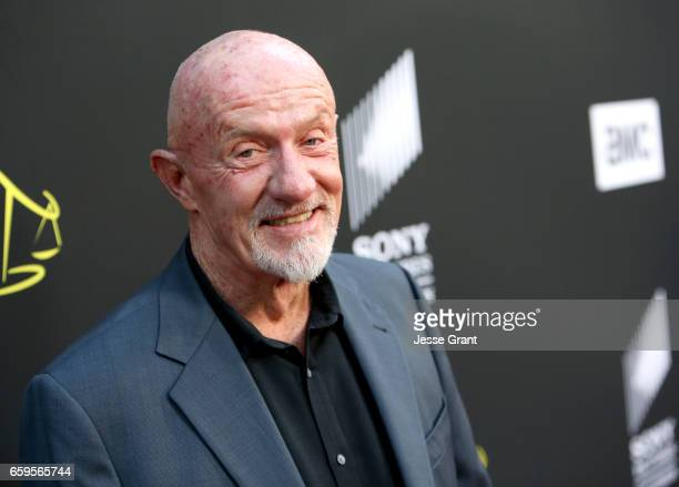 Actor Jonathan Banks attends AMC's 'Better Call Saul' season 3 premiere at ArcLight Cinemas on March 28 2017 in Culver City California