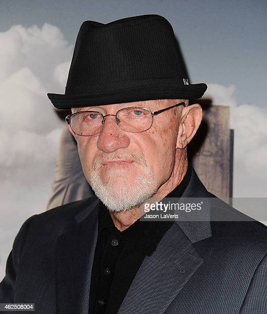 Actor Jonathan Banks attends the premiere of 'Better Call Saul' at Regal Cinemas LA Live on January 29 2015 in Los Angeles California