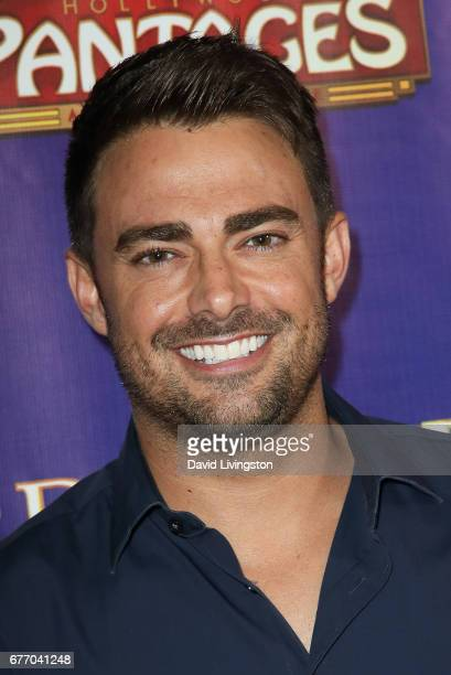 Actor Jonathan Bennett arrives at the premiere of 'The Bodyguard' at the Pantages Theatre on May 2 2017 in Hollywood California