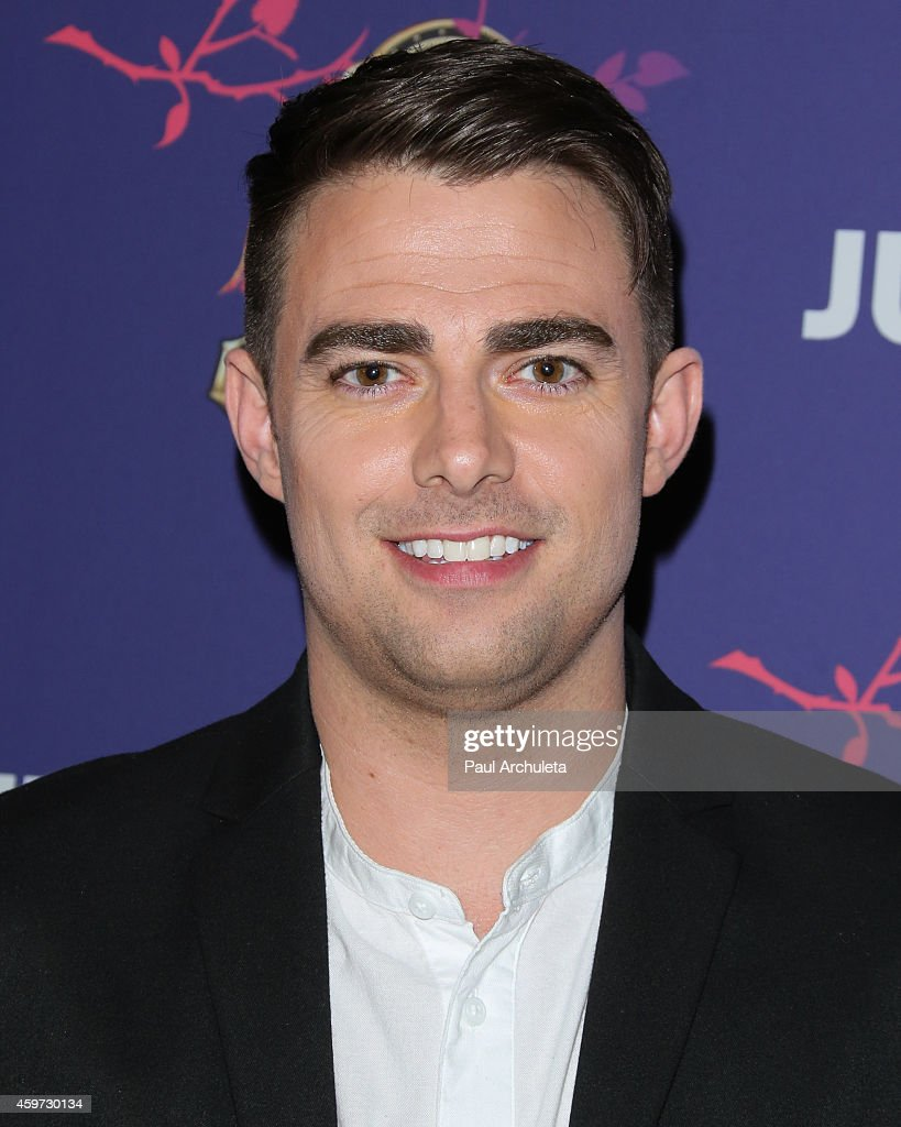 Actor <a gi-track='captionPersonalityLinkClicked' href=/galleries/search?phrase=Jonathan+Bennett&family=editorial&specificpeople=233425 ng-click='$event.stopPropagation()'>Jonathan Bennett</a> attends Just Jared's Homecoming Dance at the El Rey Theatre on November 20, 2014 in Los Angeles, California.
