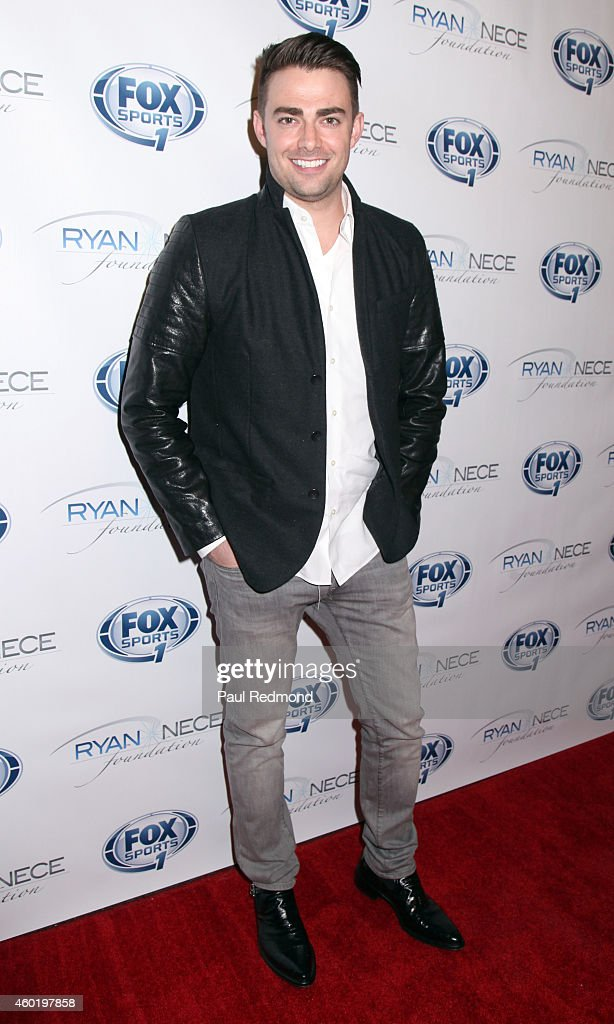 Actor <a gi-track='captionPersonalityLinkClicked' href=/galleries/search?phrase=Jonathan+Bennett&family=editorial&specificpeople=233425 ng-click='$event.stopPropagation()'>Jonathan Bennett</a> attends Power of Giving Holiday Event and Benefit for The Ryan Nece Foundation and Mattel Children's Hospital UCLA at Riva Bella on December 8, 2014 in West Hollywood, California.