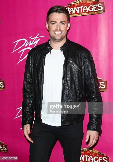 Actor Jonathan Bennett attends the opening night of 'Dirty Dancing The Classic Story On Stage' at the Pantages Theatre on February 2 2016 in...