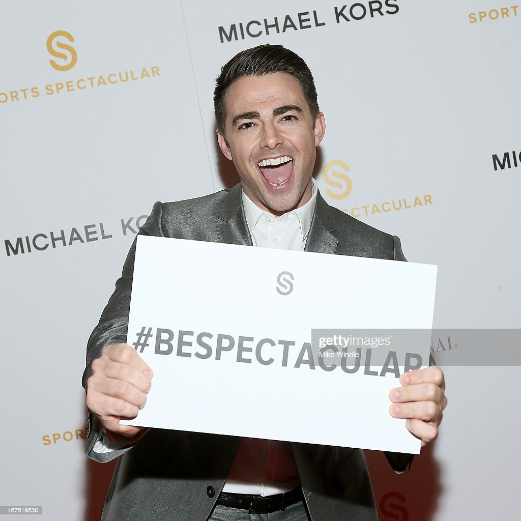 Actor <a gi-track='captionPersonalityLinkClicked' href=/galleries/search?phrase=Jonathan+Bennett&family=editorial&specificpeople=233425 ng-click='$event.stopPropagation()'>Jonathan Bennett</a> attends the Sports Spectacular Luncheon, Benefiting Cedars-Sinai at The Beverly Hilton Hotel on March 25, 2015 in Beverly Hills, California.