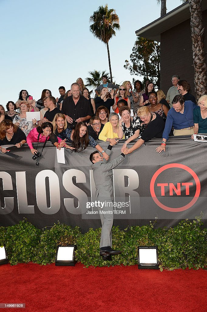 Actor Jonathan Del Arco attends the special fan screening of TNT's 'The Closer' series finale held at The Roosevelt Hotel on August 7, 2012 in Hollywood, California.