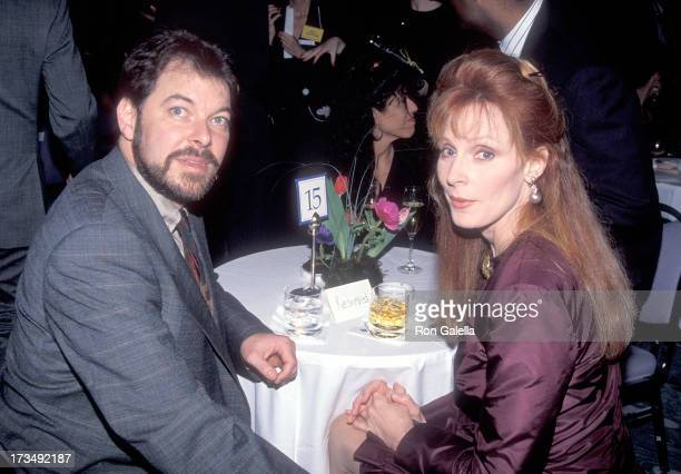 Actor Jonathan Frakes and actress Gates McFadden attend Education First's First Annual First Annual Vision Award Salute to Gene Roddenberry and 'The...