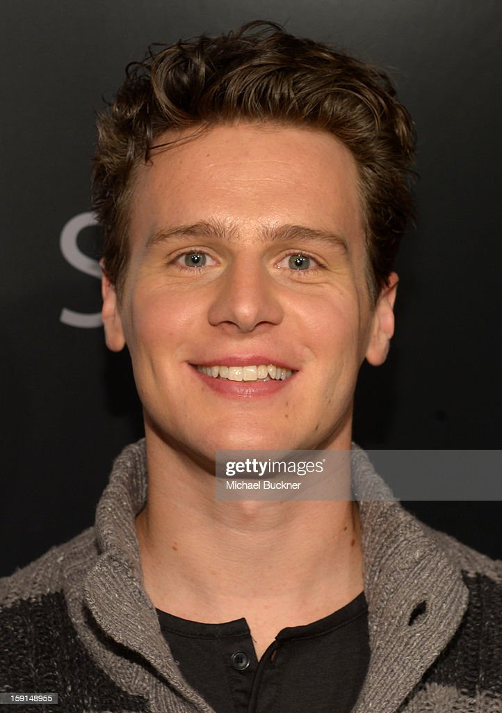 Actor <a gi-track='captionPersonalityLinkClicked' href=/galleries/search?phrase=Jonathan+Groff&family=editorial&specificpeople=2994250 ng-click='$event.stopPropagation()'>Jonathan Groff</a> attends '30 Years Of Fashion And Film And The Next Generation Of Style Icons' with W Magazine and GUESS at Laurel Hardware on January 8, 2013 in West Hollywood, California.