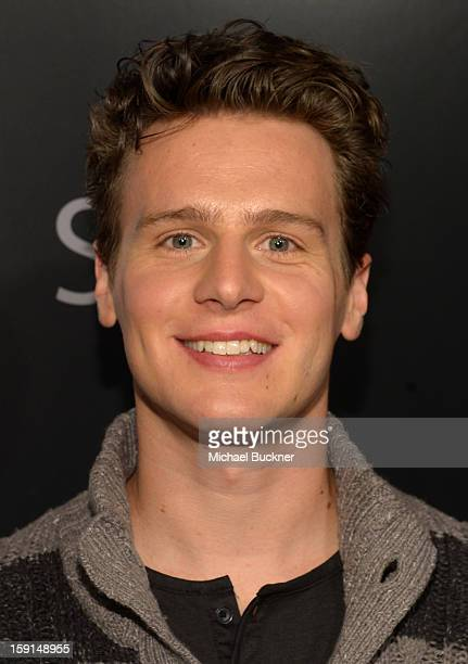 Actor Jonathan Groff attends '30 Years Of Fashion And Film And The Next Generation Of Style Icons' with W Magazine and GUESS at Laurel Hardware on...