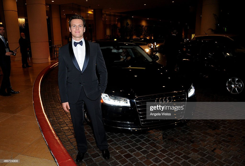 Actor Jonathan Groff attends the 17th Costume Designers Guild Awards presented by Audi and Lacoste at The Beverly Hilton Hotel on February 17 2015 in...