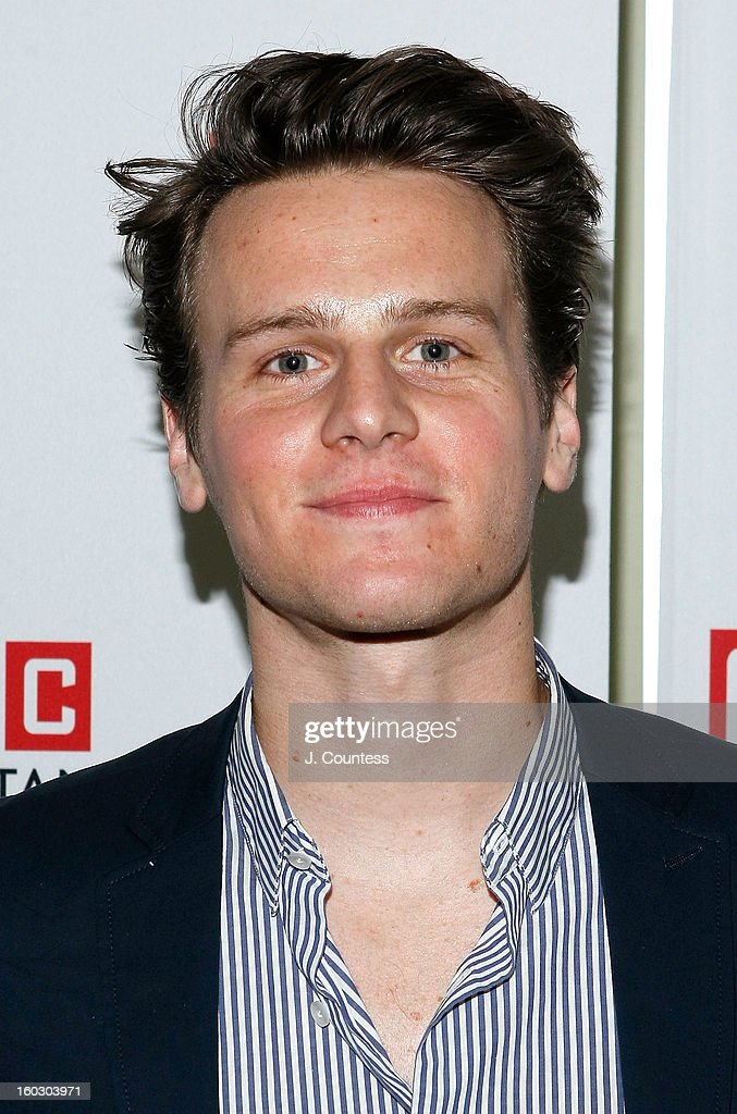 Actor <a gi-track='captionPersonalityLinkClicked' href=/galleries/search?phrase=Jonathan+Groff&family=editorial&specificpeople=2994250 ng-click='$event.stopPropagation()'>Jonathan Groff</a> attends the 2012 Manhattan Theatre Club Benefit: An Intimate Night at Jazz at Lincoln Center on January 28, 2013 in New York City.