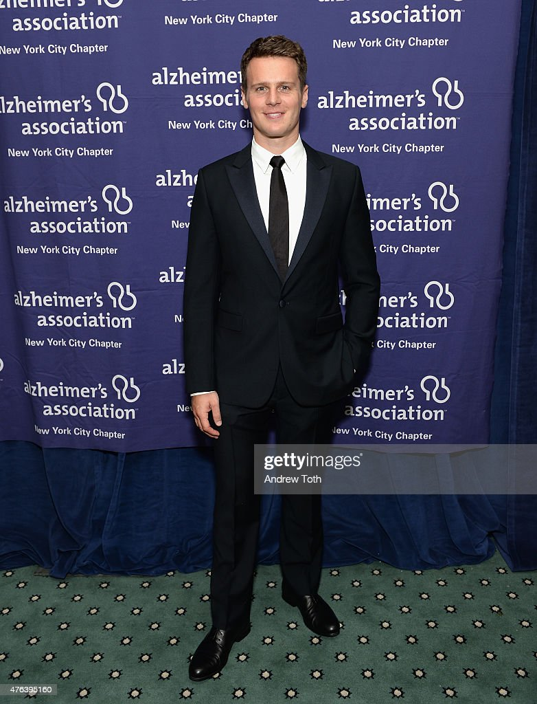 Actor Jonathan Groff attends the Alzheimer's Association New York City Chapter's 2015 'ForgetMeNot' Gala at The Pierre Hotel on June 8 2015 in New...