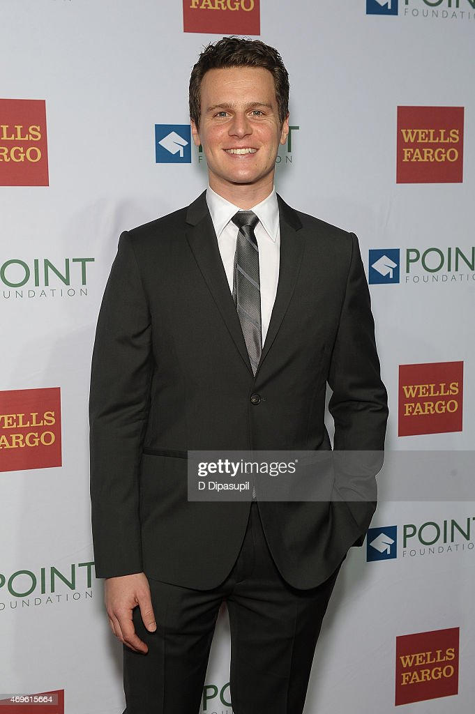 Actor Jonathan Groff attends The Point Foundation's Annual Point Honors New York Gala at New York Public Library on April 13 2015 in New York City
