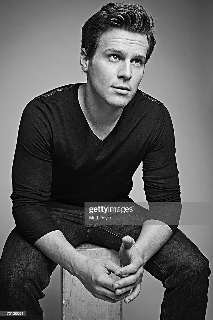 Actor Jonathan Groff is photographed for Back Stage on December 17, 2013, in New York City.