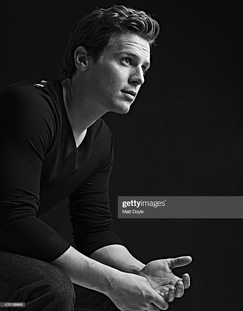 Actor <a gi-track='captionPersonalityLinkClicked' href=/galleries/search?phrase=Jonathan+Groff&family=editorial&specificpeople=2994250 ng-click='$event.stopPropagation()'>Jonathan Groff</a> is photographed for Back Stage on December 17, 2013, in New York City. PUBLISHED