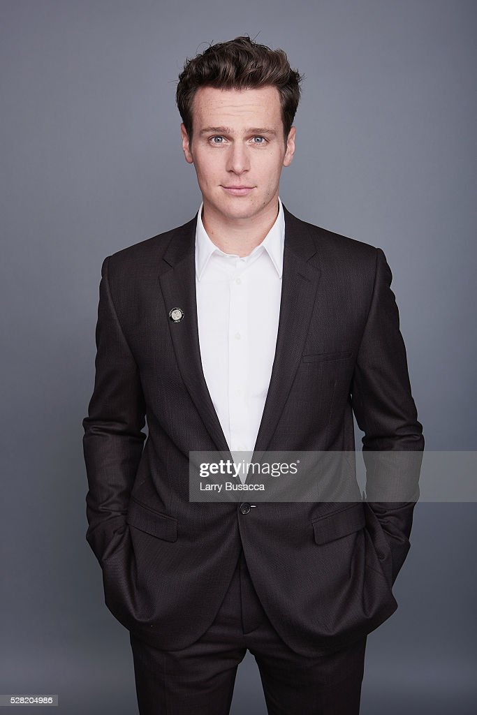 Actor <a gi-track='captionPersonalityLinkClicked' href=/galleries/search?phrase=Jonathan+Groff&family=editorial&specificpeople=2994250 ng-click='$event.stopPropagation()'>Jonathan Groff</a> poses for a portrait at the 2016 Tony Awards Meet The Nominees Press Reception on May 4, 2016 in New York City.