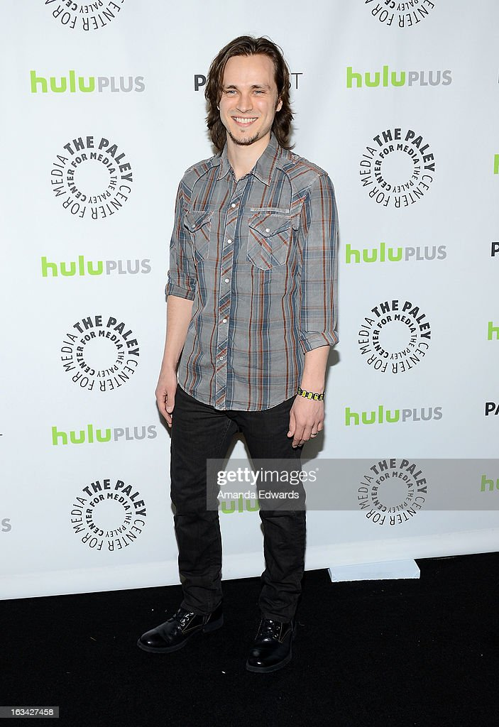 Actor <a gi-track='captionPersonalityLinkClicked' href=/galleries/search?phrase=Jonathan+Jackson&family=editorial&specificpeople=224950 ng-click='$event.stopPropagation()'>Jonathan Jackson</a> arrives at the 30th Annual PaleyFest: The William S. Paley Television Festival featuring 'Nashville' at the Saban Theatre on March 9, 2013 in Beverly Hills, California.