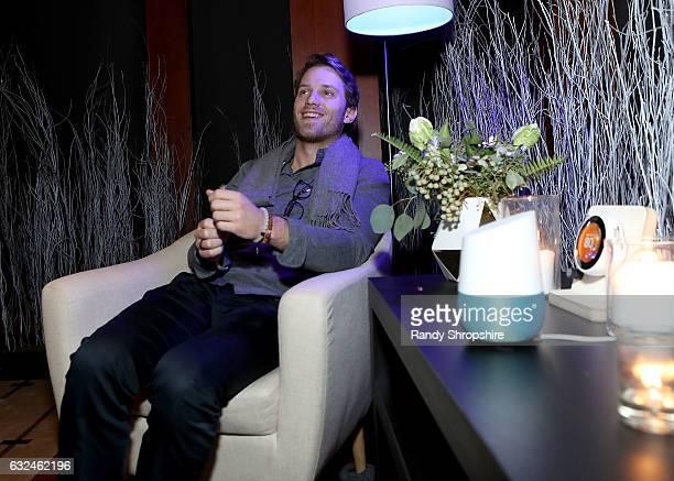 Actor Jonathan Keltz attends Google Home x Sundance x Wanderluxxe celebrate diversity at the home of Barry Amy Baker on January 22 2017 in Park City...