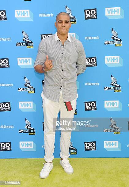 Actor Jonathan 'Lil J' McDaniel arrives at the DoSomethingorg and VH1's 2013 Do Something Awards at Avalon on July 31 2013 in Hollywood California