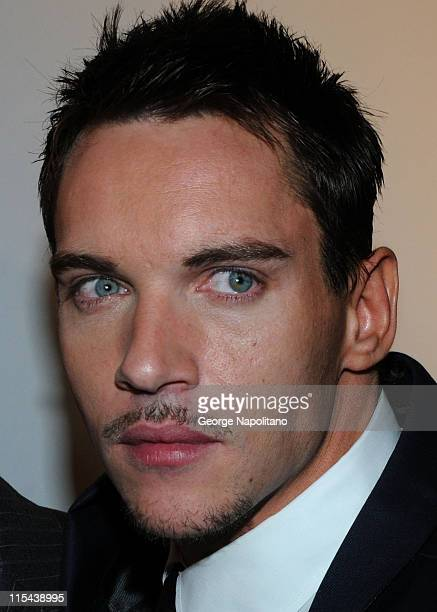 Actor Jonathan Rhys Meyers arrives for the World Premiere party for season 2 of the Showtime original series 'The Tudors' at the Sheraton New York...