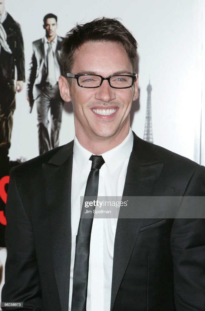 Actor <a gi-track='captionPersonalityLinkClicked' href=/galleries/search?phrase=Jonathan+Rhys+Meyers&family=editorial&specificpeople=206662 ng-click='$event.stopPropagation()'>Jonathan Rhys Meyers</a> attends the 'From Paris With Love' premiere at the Ziegfeld Theatre on January 28, 2010 in New York City.