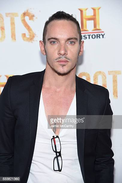 Actor Jonathan Rhys Meyers attends the 'Roots' night one screening at Alice Tully Hall Lincoln Center on May 23 2016 in New York City