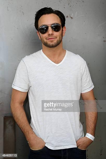 Actor Jonathan Sadowski arrives at the John Varvatos 11th Annual Stuart House Benefit at John Varvatos Boutique on April 13 2014 in West Hollywood...