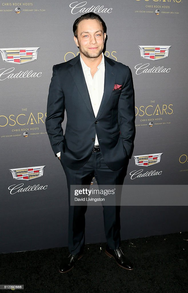 Actor <a gi-track='captionPersonalityLinkClicked' href=/galleries/search?phrase=Jonathan+Sadowski&family=editorial&specificpeople=718973 ng-click='$event.stopPropagation()'>Jonathan Sadowski</a> attends Cadillac's Pre-Oscar Event at Chateau Marmont on February 25, 2016 in Los Angeles, California.