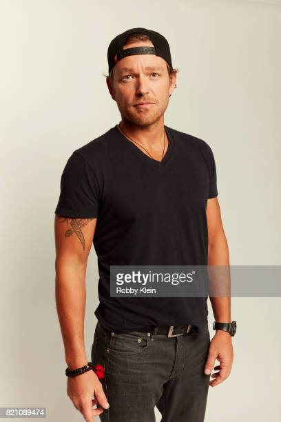 Actor Jonathan Scarfe from Syfy's 'Van Helsing' poses for a portrait during ComicCon 2017 at Hard Rock Hotel San Diego on July 20 2017 in San Diego...