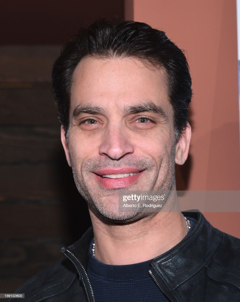 Actor Jonathan Schaech arrives to the premiere of Salient Media's 'Freeloaders' at Sundance Cinema on January 7, 2013 in Los Angeles, California.