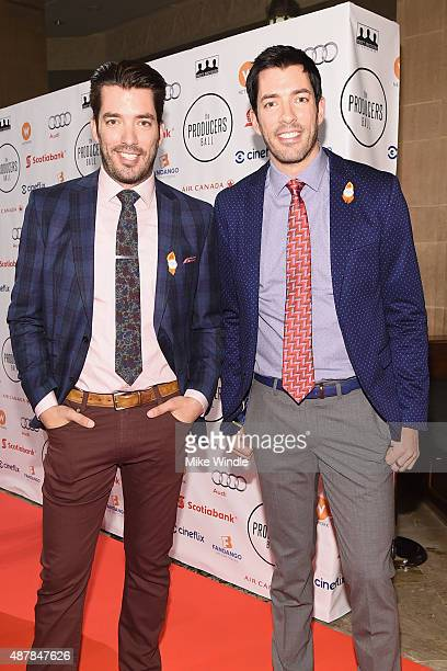 Actor Jonathan Scott and Actor Drew Scott attend the 5th Annual Producers Ball presented by Scotiabank in support of The 2015 Toronto International...