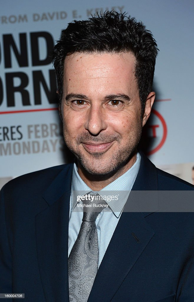 Actor <a gi-track='captionPersonalityLinkClicked' href=/galleries/search?phrase=Jonathan+Silverman&family=editorial&specificpeople=228073 ng-click='$event.stopPropagation()'>Jonathan Silverman</a> attends 'Monday Mornings' Premiere Reception at at BOA Steakhouse on January 24, 2013 in West Hollywood, California. (Photo by Michael Buckner/WireImage) 23200_001_MB_0143.jpg