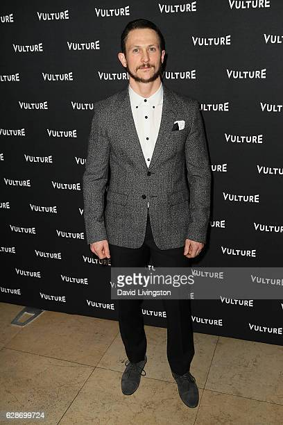 Actor Jonathan Tucker arrives at the Vulture Awards Season Party at the Sunset Tower Hotel on December 8 2016 in West Hollywood California