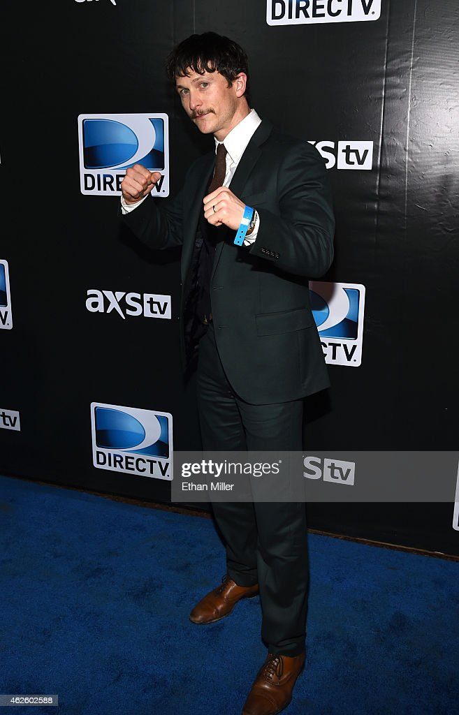 Actor Jonathan Tucker attends DirecTV Super Saturday Night hosted by Mark Cuban's AXS TV and Pro Football Hall of Famer Michael Strahan at Pendergast...