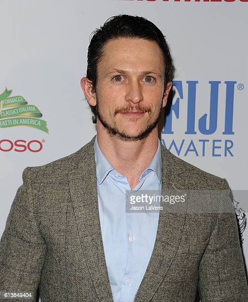 Actor Jonathan Tucker attends Men's Fitness Game Changers celebration at Sunset Tower Hotel on October 10 2016 in West Hollywood California