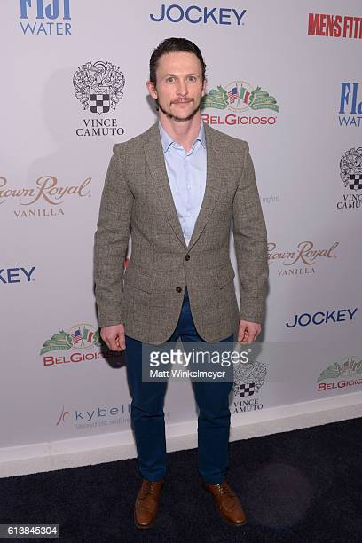 Actor Jonathan Tucker attends the Men's Fitness Game Changers Celebration at Sunset Tower Hotel on October 10 2016 in West Hollywood California