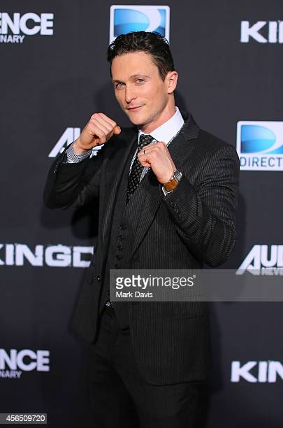 Actor Jonathan Tucker attends the Premiere Event for DIRECTV's KINGDOM on October 1 2014 in Venice California