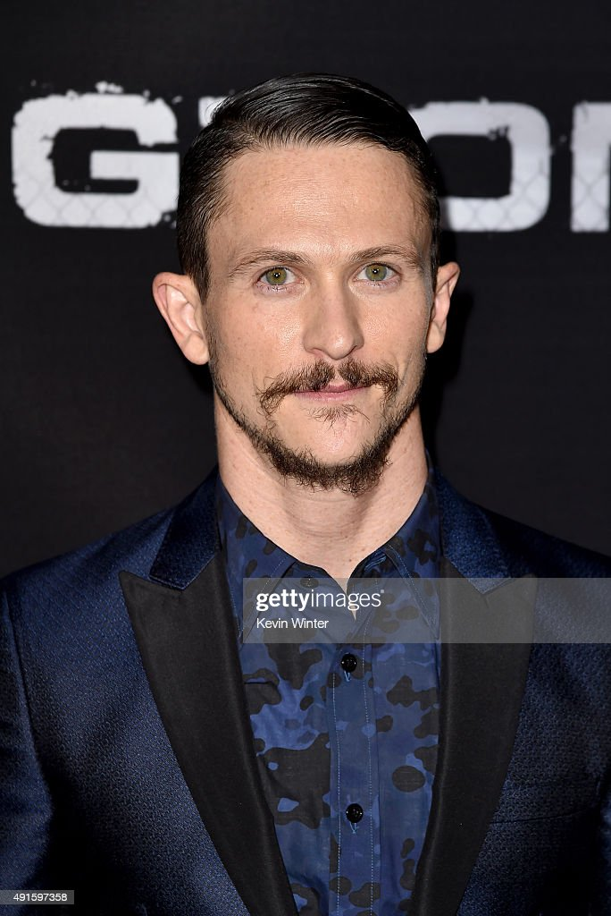 Actor Jonathan Tucker attends the premiere of DIRECTV's 'Kingdom' Season 2 at SilverScreen Theater at the Pacific Design Center on October 6 2015 in...