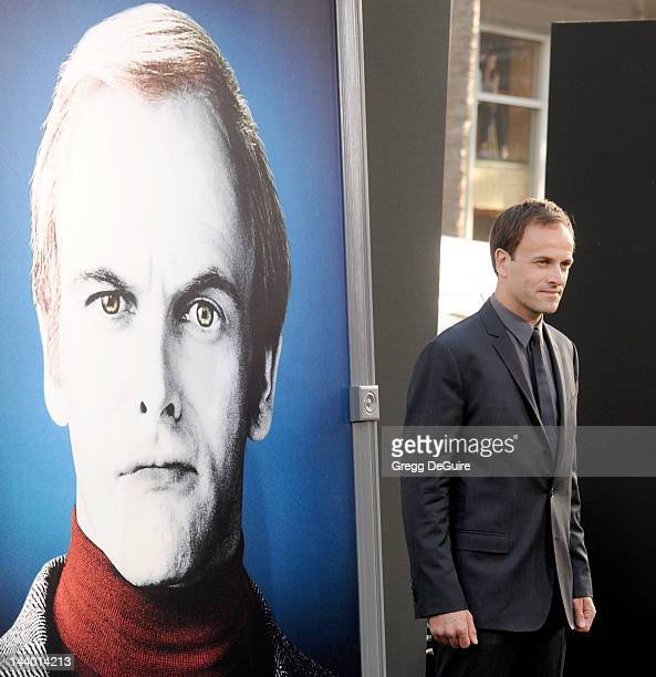 Actor Jonny Lee Miller arrives at the Los Angeles premiere of 'Dark Shadows' at Grauman's Chinese Theatre on May 7 2012 in Hollywood California