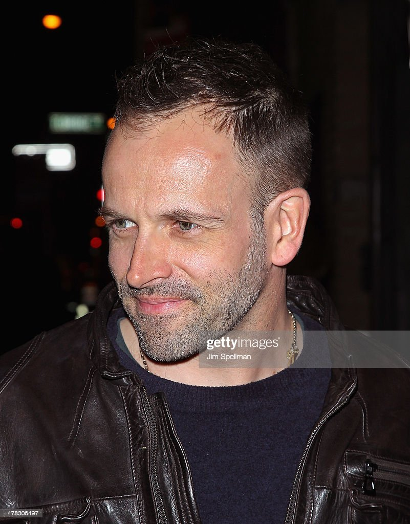 Actor Jonny Lee Miller attends Sony Pictures Classics' 'Only Lovers Left Alive' screening hosted by The Cinema Society and Stefano Tonchi, Editor in Chief of W Magazine at Landmark's Sunshine Cinema on March 12, 2014 in New York City.