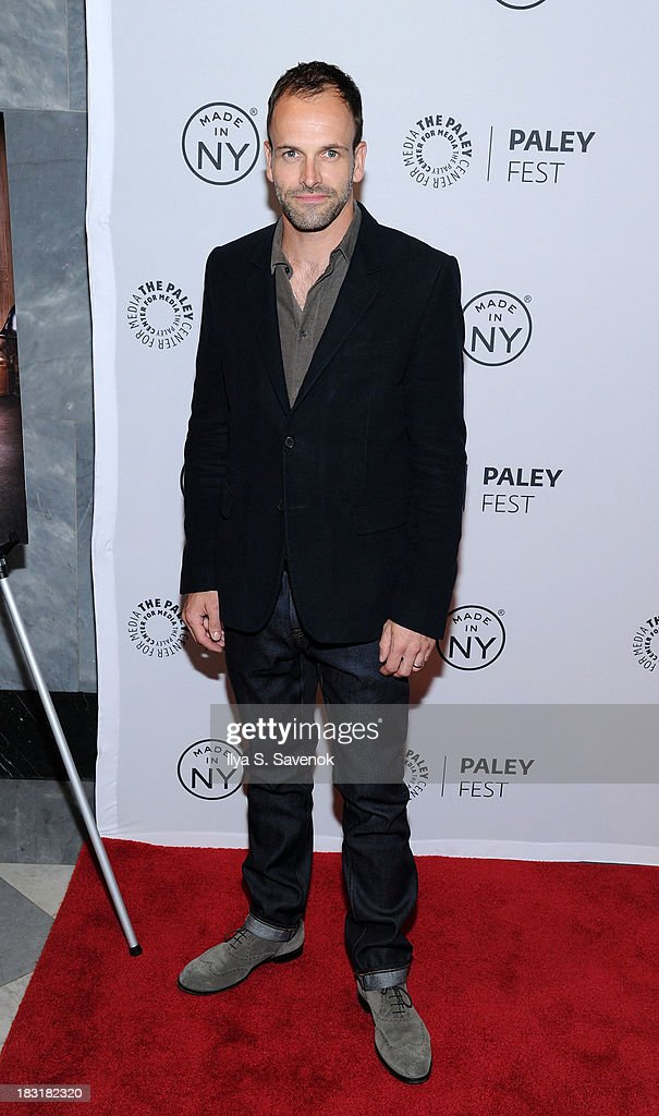 Actor <a gi-track='captionPersonalityLinkClicked' href=/galleries/search?phrase=Jonny+Lee+Miller&family=editorial&specificpeople=633082 ng-click='$event.stopPropagation()'>Jonny Lee Miller</a> attends the 'Elementary' panel during 2013 PaleyFest: Made In New York at The Paley Center for Media on October 5, 2013 in New York City.