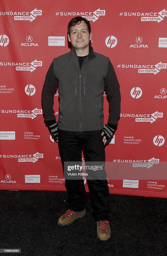Actor Jonny Mars attends 'Computer Chess' Premiere - 2013 Sundance Film Festival at Library Center Theater on January 21, 2013 in Park City, Utah.