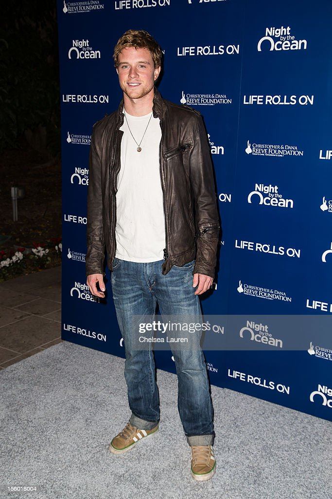 Actor <a gi-track='captionPersonalityLinkClicked' href=/galleries/search?phrase=Jonny+Weston&family=editorial&specificpeople=8809342 ng-click='$event.stopPropagation()'>Jonny Weston</a> arrives at the Life Rolls On foundation's 9th annual 'Night by the Ocean' gala at Ritz Carlton Hotel on November 10, 2012 in Marina del Rey, California.