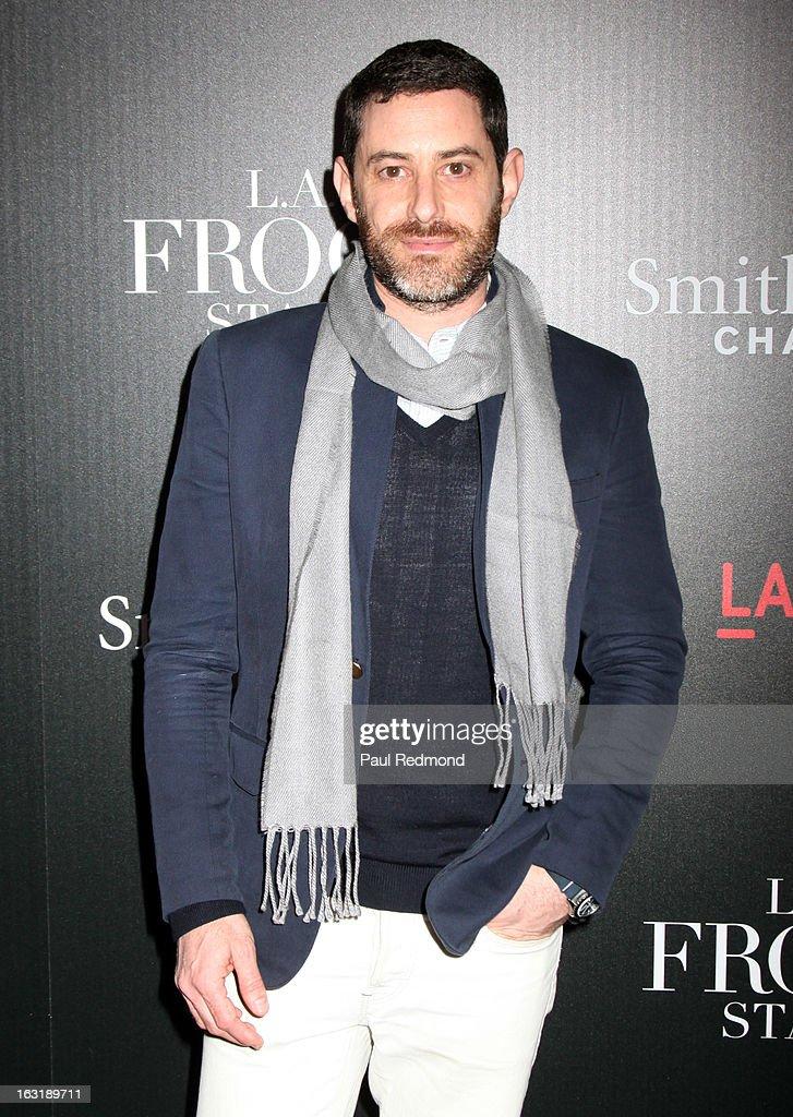 Actor Jordan Feldman arrives at 'L.A.Frock Stars' - Los Angeles Screening at LACMA on March 5, 2013 in Los Angeles, California.