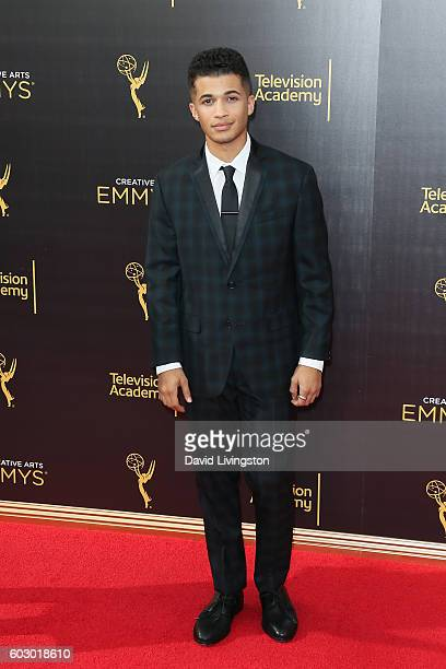 Actor Jordan Fisher attends the 2016 Creative Arts Emmy Awards Day 2 at the Microsoft Theater on September 11 2016 in Los Angeles California