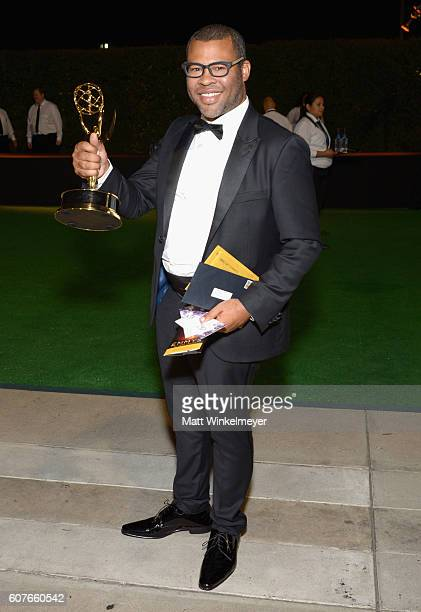 Actor Jordan Peele attends the 68th Annual Primetime Emmy Awards Governors Ball at Microsoft Theater on September 18 2016 in Los Angeles California