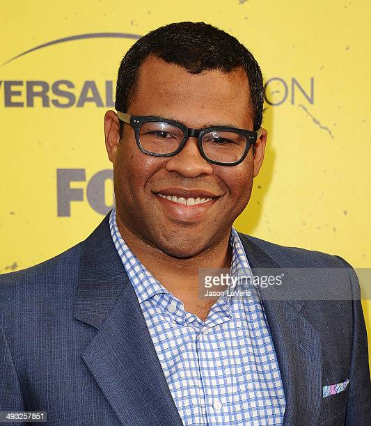 Actor Jordan Peele attends the 'Brooklyn NineNine' steakout block party and special screening event at Universal Studios Backlot on May 22 2014 in...