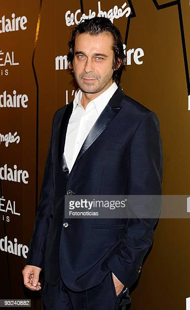 Actor Jordi Molla arrives at the '2009 Marie Claire Prix de la Mode' ceremony held at the French Ambassador«s residence on November 19 2009 in Madrid...