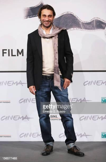 Actor Jordi Molla attends the 'Una Pistola En Cada Mano' photocall during the 7th Rome Film Festival at Auditorium Parco Della Musica on November 17...